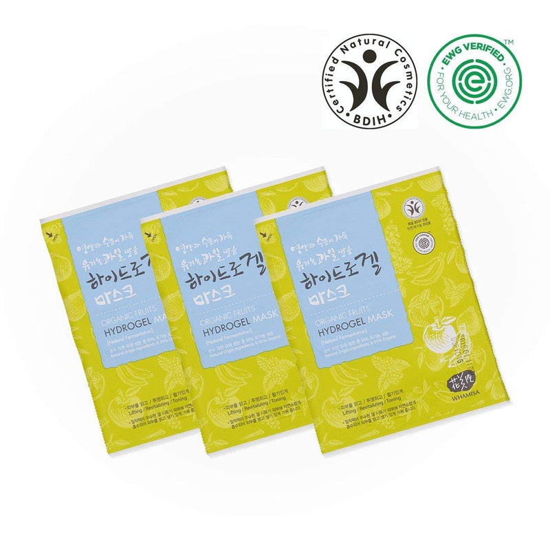 Organic Facial Mask - Fruits & Tomato 33g x 3 pcs