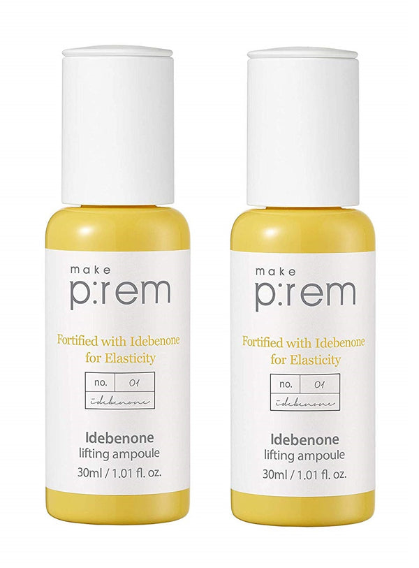 Idebenone Lifting Ampoule Serum (2 Bottles, 30ml Each)