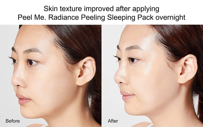 Peel me. Radiance peeling sleeping pack