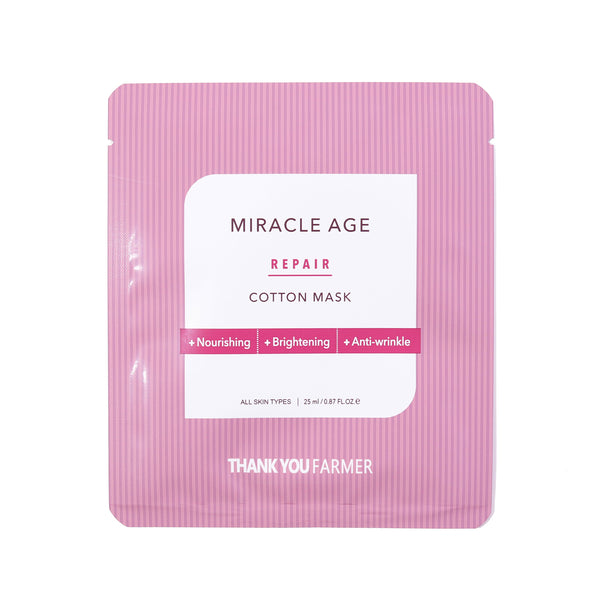 Miracle Age Repair Cotton Mask