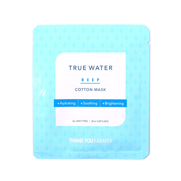 True Water Deep Cotton Mask (for All Skin Type)