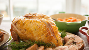 Fresh Free Range Whole Turkey Crown (available from 21/12)
