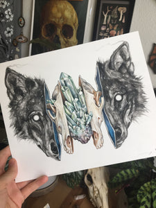 Wolf collab with brian serway