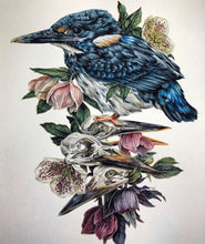 Load image into Gallery viewer, 'Torch' Kingfisher original