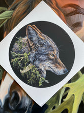 Load image into Gallery viewer, Coyote Print
