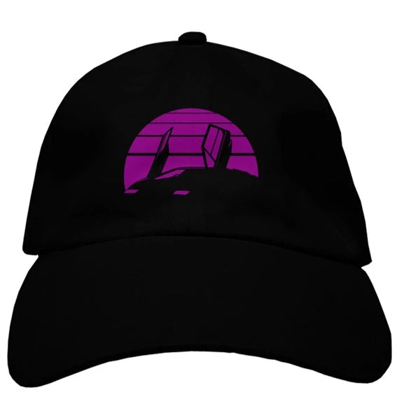 RetroWave dad hat
