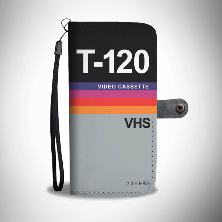 VHS Classic Phone Wallet Case
