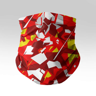 Red Lambo Camo Neck Gaiter