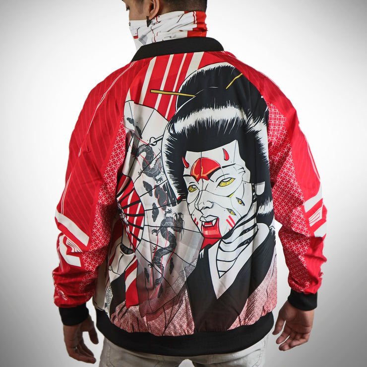 Cyber Geisha Men's Bomber Jacket
