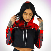 DLNQNT Women's Cropped Hoodie