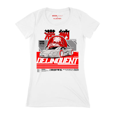 Women's Delinquent Slim Fit T-Shirt