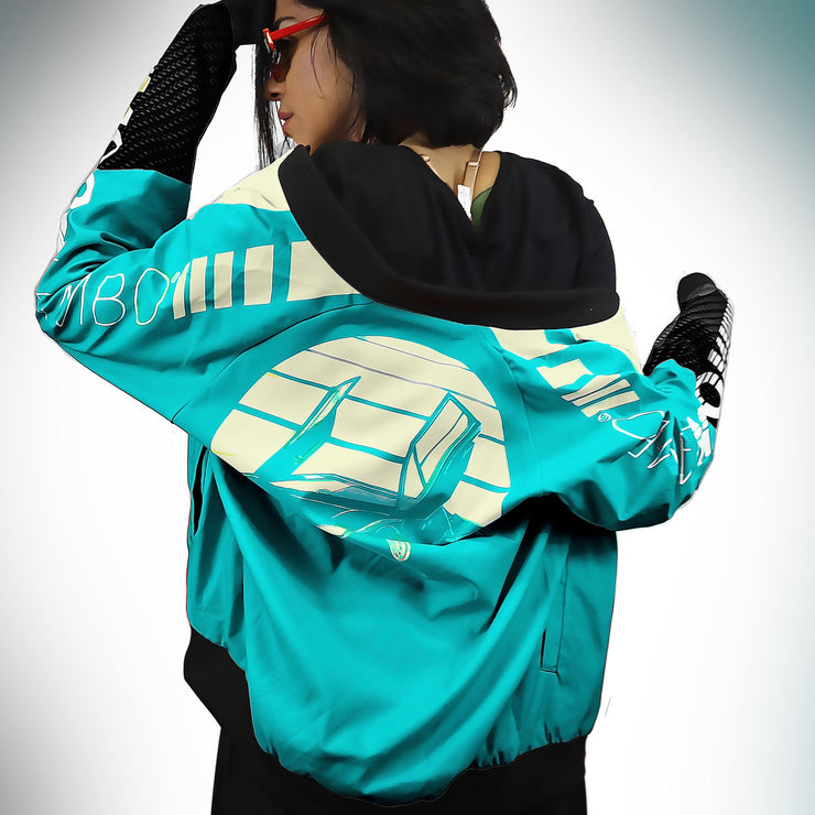 Ladies GT Bomber Jacket - Vapormint