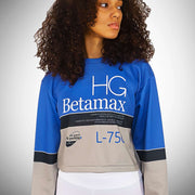 BETAMAX French Terry Women's Cropped Sweatshirt