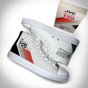 Mens VHS THROWBACK Hightop Canvas Shoe