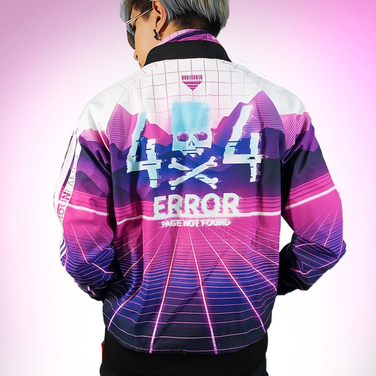 404 error bomber jacket