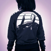 Ladies GT Bomber Jacket - Rosso Andromeda