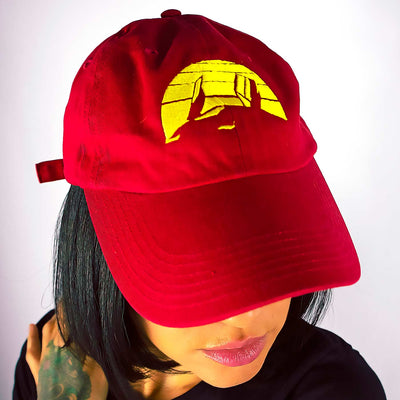 Dad hat Racer Red