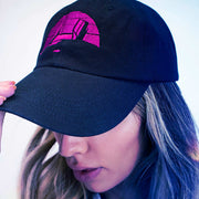 ML Retrowave Dad hat