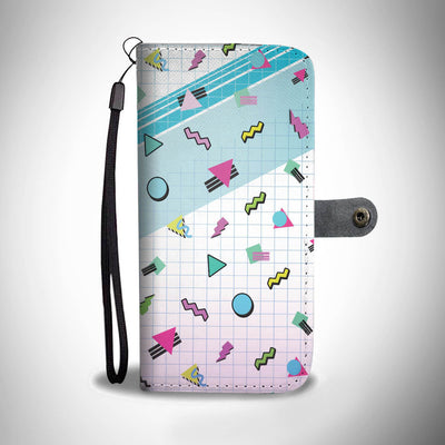 Classic 90's pattern Phone Wallet Case