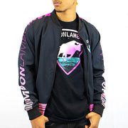Mens Retrowave Bomber