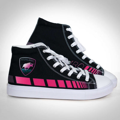 Ladies Retrowave Runner Canvas Hightop Shoe