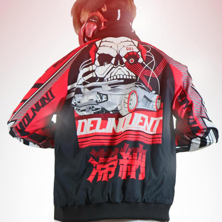 DLNQNT Men's Bomber Jacket
