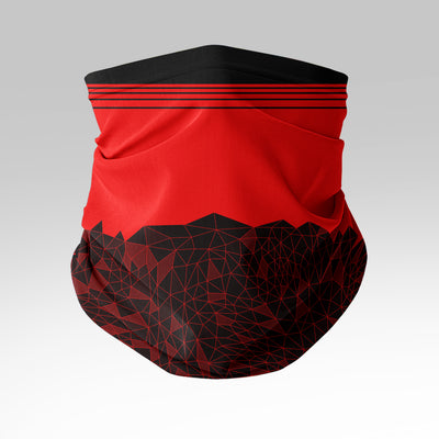 Shattered Node Gaiter (Red)