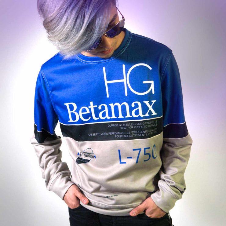 BETAMAX French Terry Crewneck Pullover