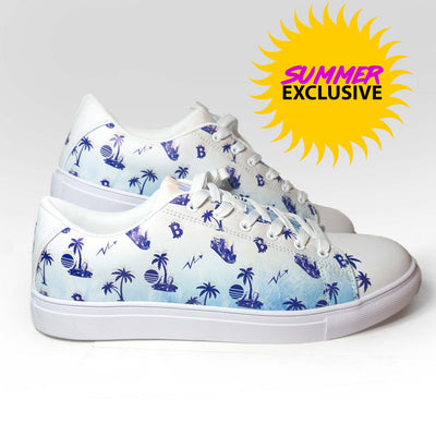 Ladies Lambo Breeze low top Faux-Leather Sneaker
