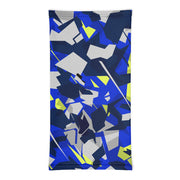 Shattered Poly Camo Neck Gaiter (blue)