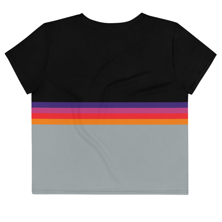 T-120 VHS Sublimated Crop top