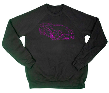 Node Lambo Fleece Raglan SS