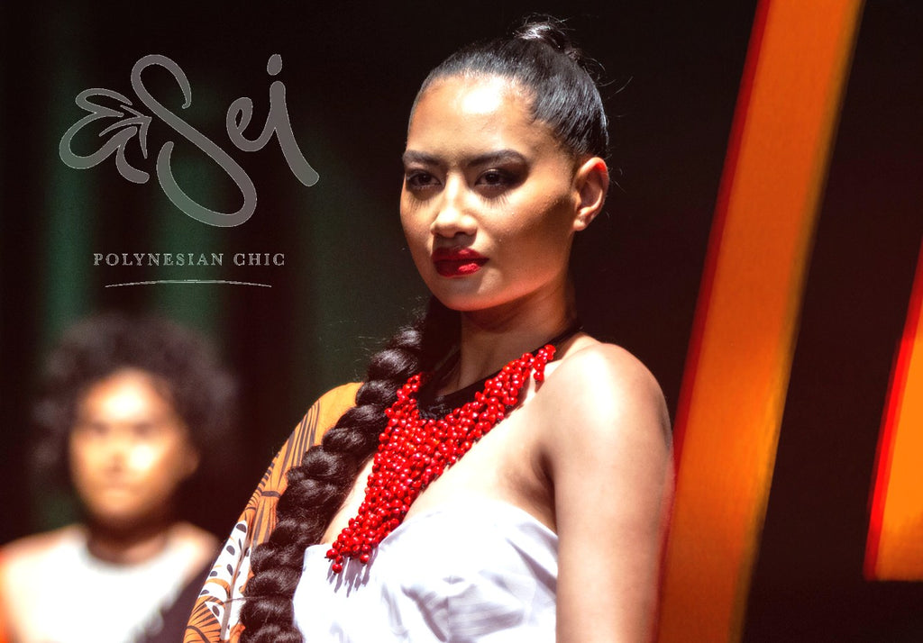 EVANA COUTURE COLLABORATION WITH SEI POLYNESIA