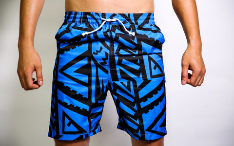 MENS CORAL ELEI PRINT BOARD SHORTS