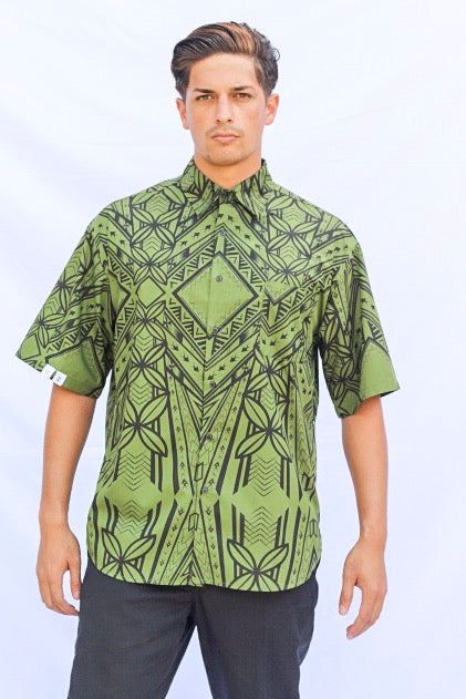 "ECFM ""OG"" MENS SHIRT ARMY GREEN"