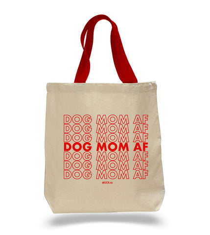 DOG MOM AF (Red Handles) - LICKco