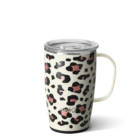 Luxy Leopard 18oz Travel Mug