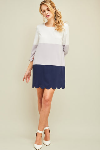 Scallop Me Away Navy