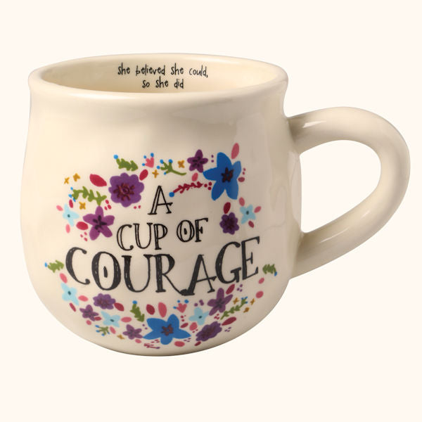 Natural Life Happy Mug - A Cup of Courage
