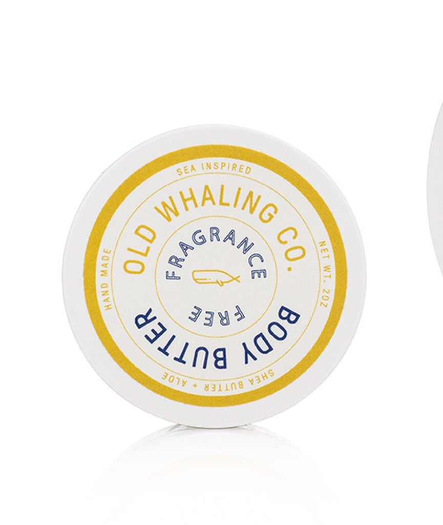 Old Whaling Company - Fragrance Free Travel-Size Body Butter (2oz)