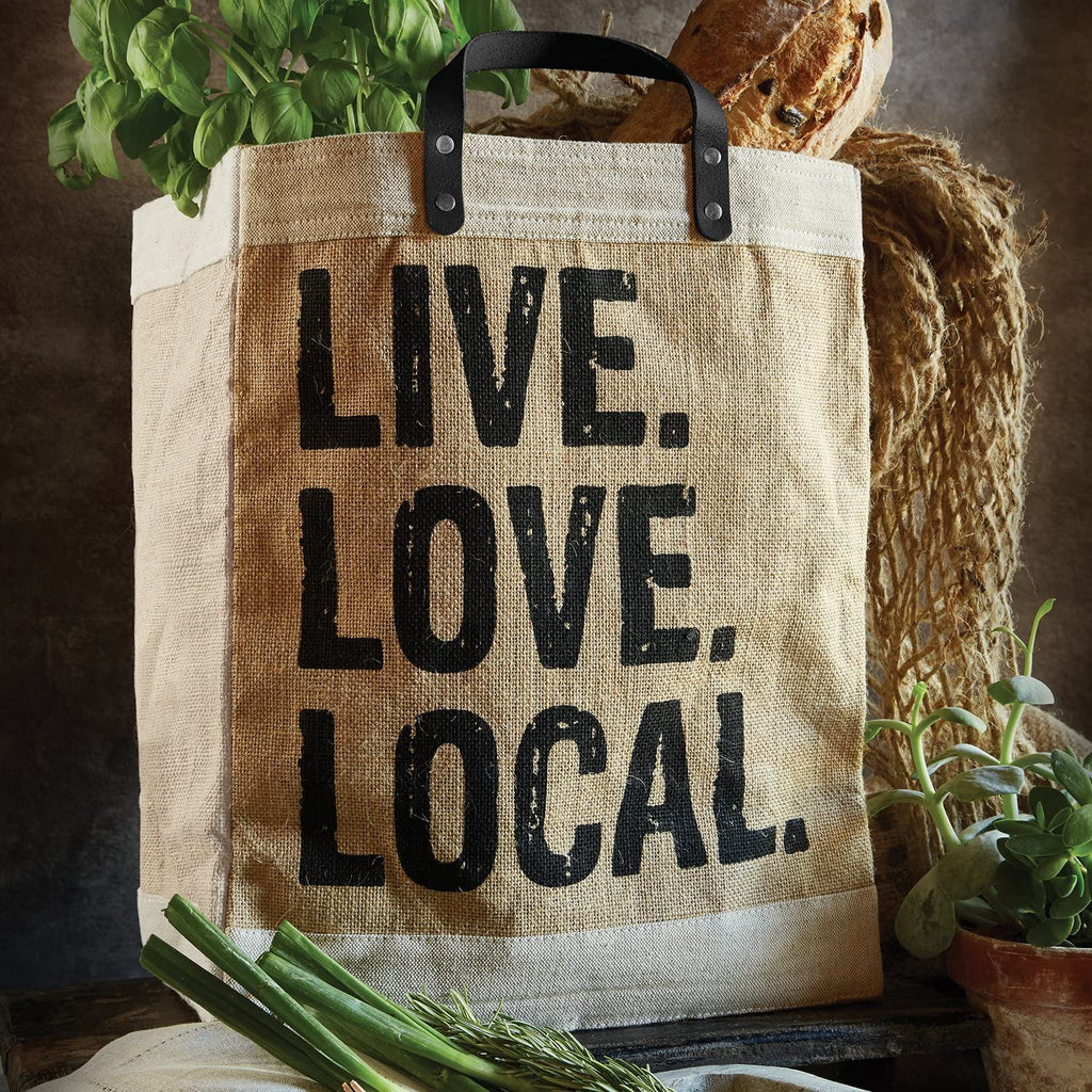 Live Love Local Hold Everything Market Tote