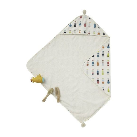 Petit Pehr Little Peeps Hooded Towel