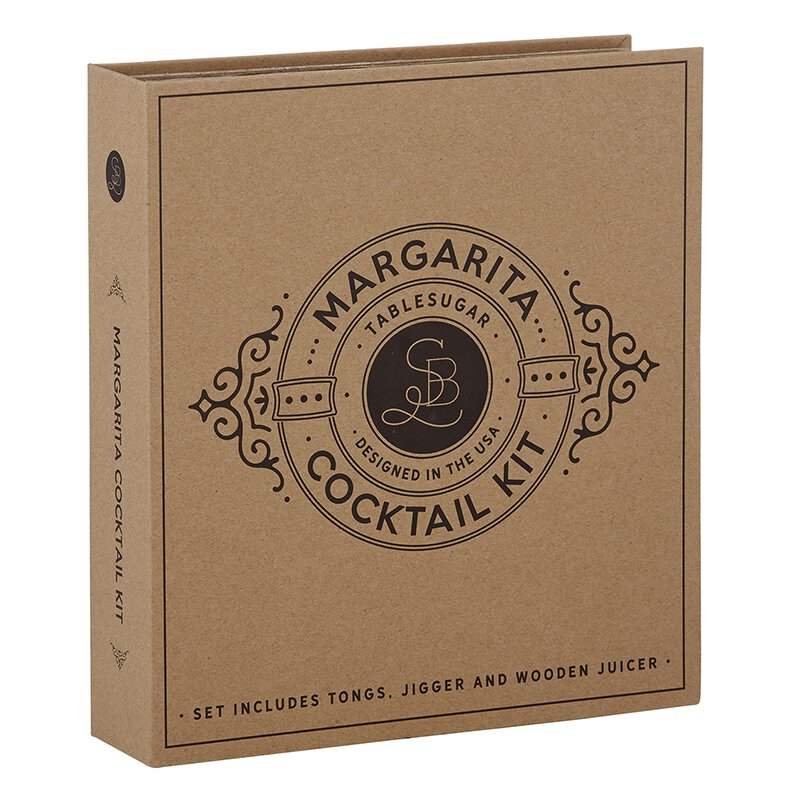 Cardboard Margarita Cocktail Kit