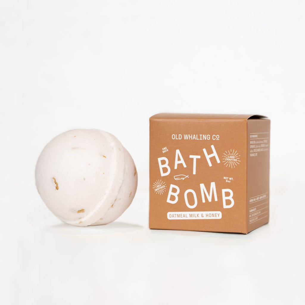 Old Whaling Company - Oatmeal Milk + Honey Bath Bomb