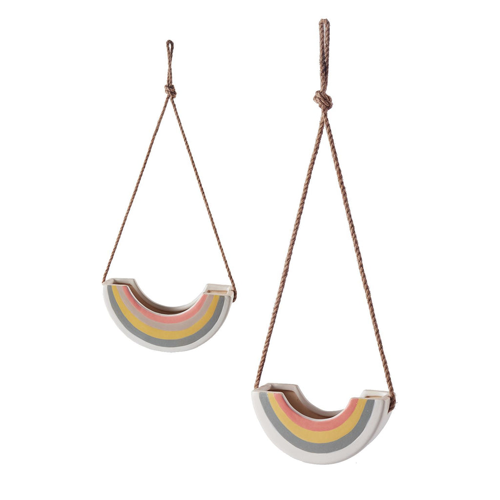 Hanging Rainbow Planter, 2 Sizes