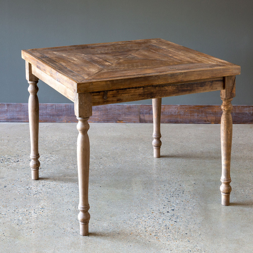 Reclaimed Wood Game Table