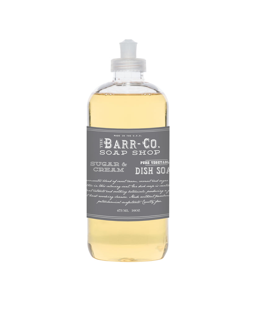 Barr Co. Dish Soap, Sugar & Cream