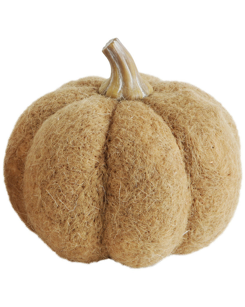 Wool Felt Pumpkin (Large), Tan