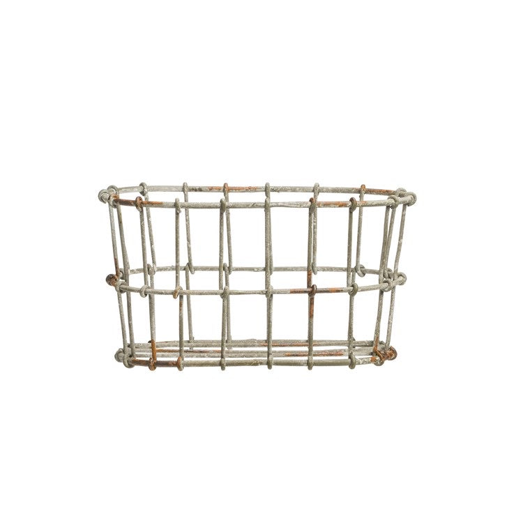 Wire Basket Soap / Lotion Holder