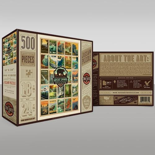 True South Great Smoky Mountains Multi Puzzle
